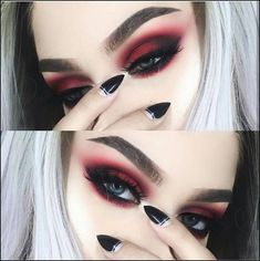 Gorgeous Makeup: Tips and Tricks With Eye Makeup and Eyeshadow – Makeup Design Ideas Makeup Goals, Makeup Hacks, Makeup Inspo, Makeup Inspiration, Makeup Tips, Beauty Makeup, Hair Beauty, Makeup Ideas, Makeup Style