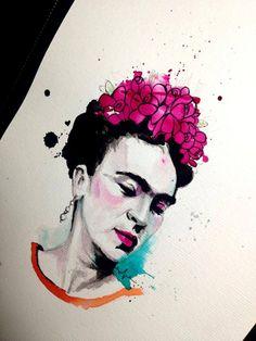 Frida Kahlo - por Victor Octaviano