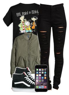 12:25:14 by codeineweeknds on Polyvore featuring H&M and Vans