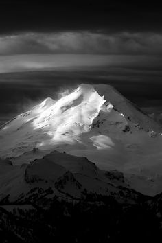 Mt. Baker. This time lets go to the top Craig!! Xoxo