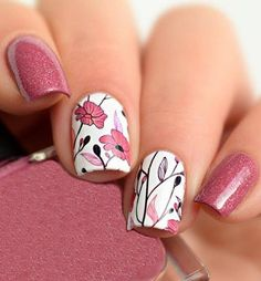 Classy Spring Colorful Nail Art Designs