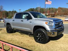 2016 Toyota Tundra Crewmax is the featured model. The 2016 Toyota Tundra Crewmax Lifted image is added in car pictures category by the author on Feb Toyota Tundra 4x4, 2016 Toyota Tundra Crewmax, Lifted Tundra, Tundra Truck, Toyota Tacoma, Toyota Autos, Toyota Trucks, Toyota Cars, Toyota 4