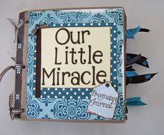 Pregnancy Journal and Scrapbook .. cute idea