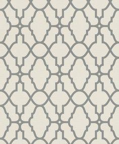 Casablanca by Albany - Cotton : Wallpaper Direct Albany Wallpaper, Trellis Design, Paper Wallpaper, Art Deco Period, Casablanca, True Colors, Modern Art, Pattern, Cotton