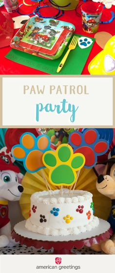 Make your little one's birthday dreams come true with help from this Paw Patrol Party! Grab these colorful decorations, party essentials, and supplies from Target to make this celebration a memorable (Favorite Party Paw Patrol Birthday) Paw Patrol Birthday Cake, Paw Patrol Party, 4th Birthday Parties, 2nd Birthday, Torta Paw Patrol, Puppy Party, First Birthdays, Celebration, Target