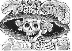 """Jose Guadalupe Posada """"La Catrina"""""""