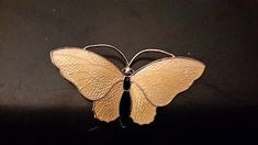 Beautiful Aksel Holmsen Large butterfly brooch