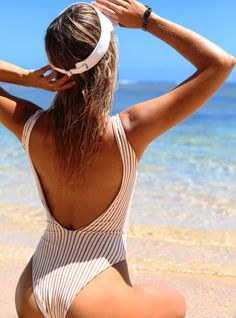 bd25d29735890 2018 L*Space Swimwear: GOLD HORIZON ARIZONA ONE PIECE   Kayokoko Swimwear  #designerswimwear. Kayokoko Swimwear USA