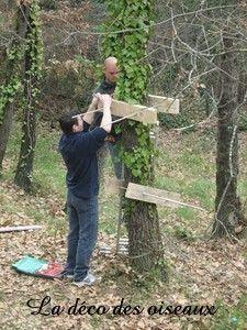 Construire une cabane dans les arbres : les étapes en image