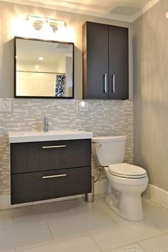 Full Bathroom Designs Prepossessing Powder Room Turned Full Bath Part Iii  The Reveal  Full Bath Decorating Inspiration