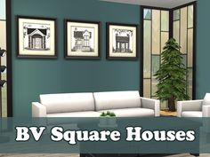 House Fronts Five recolors of the BV Square poster add-on