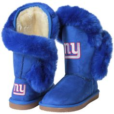 New York Giants Cuce Women's Champions Boots – Royal Blue