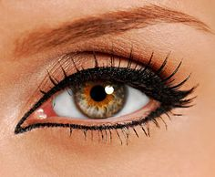 Eyeliner Tattoo ...how awesome would it be to wake up every morning with perfect eyeliner??? <3