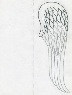 Learn quickly how to draw angel wings for your art works, collages, scrapbooks,