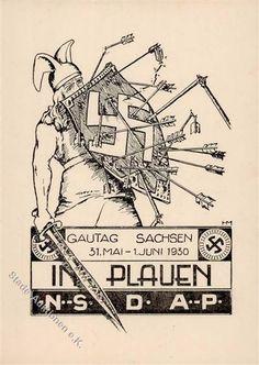 Stade-Auktionen - III. Reich Propaganda, sonstige Karten,