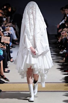 Comme des Garçons s/s 2012. One of my favourite collections of all time.