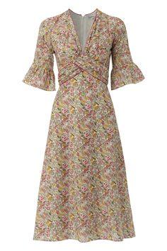 Millie Dress Frill Sleeve -from Libelula