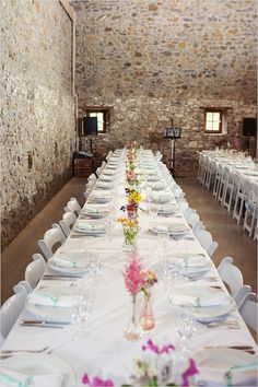 family style seating in a Holland wedding venue