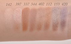 Inglot Freedom System Eyeshadows - Makeup and Beauty Blog