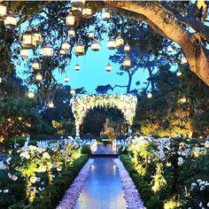 Casamento no fim de tarde! Tem clima mais especial?  Adoro tudo nesta decoração que encontrei no IG  @vidanovanoiva  #decor #wedding #decoracao #casamento #sunset #love