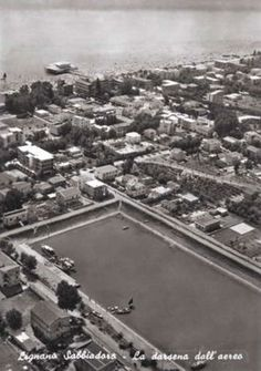 Lignano Sabbiadoro, Darsena 1957 Some Pictures, City Photo, This Is Us, The Past, Camping, Campsite, Campers, Tent Camping, Rv Camping