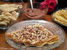 Clatite cu finneti,banane si biscuiti Pancakes, Breakfast, Food, Banana, Morning Coffee, Eten, Meals, Pancake, Morning Breakfast