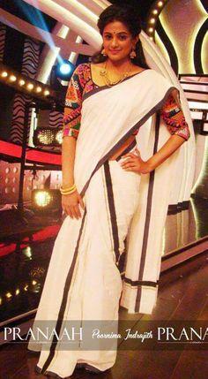 South indian saree - pranaah