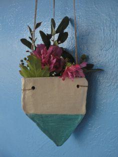 anna reser Porcelain hanging vase