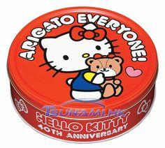 Bourbon Sanrio Hello Kitty 40th Anniversary Cocoa Cookies Biscuits Box PD