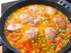 Španielska Paella ochutnajte skvelé jedlo ... www.vinopredaj.sk  #paella #chardonnay #chile #montes #vino #wine #wein #food #goodfood #dobrejedlo