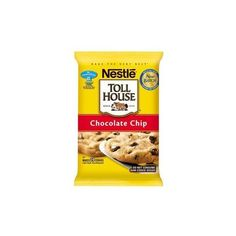 Nestle Toll House Chocolate Chip Cookie Dough 16 oz ❤ liked on Polyvore featuring food
