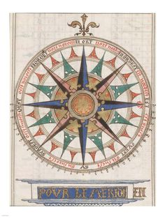 Guillaume Brouscon Compass France, 1543