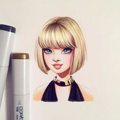 Celebridades se tornaram desenhos animados através desta artista Russa