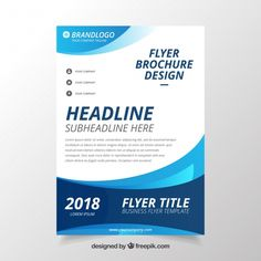 Business Flyers Template Free Lovely Modern Wavy Business Brochure Template Vector – Tate Publishing News Free Flyer Design, Graphic Design Flyer, Flyer Free, Free Flyer Templates, Business Flyer Templates, Brochure Design, Free Brochure, Business Brochure, Business Flyers