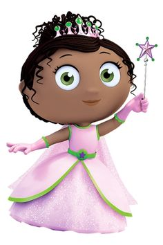 Super Why! is a Popular TV Show That Focuses on Building Reading Skills: Princess Pea