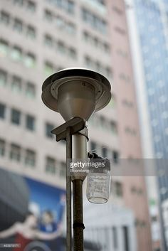 Air samples are collected at the Causeway Bay Road Side Air Quality Monitoring Station in the Causeway Bay district of Hong Kong, China. ,Lewin/Bloomberg via Getty Images