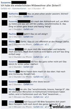 Das haarige Ei (Facebook Fail des Tages 05.01.2013 | Webfail)