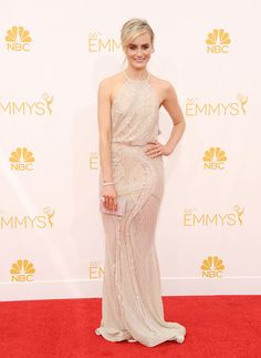 #Emmys 2014: The 21 best dressed on the red carpet // Taylor Schilling in Zuhair Murad