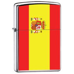 Zippo Lighter - Spain Flag ZCI007976  $21.85  Free Shipping. No Minimum. 24/7  PROMO: ZIPPO2013 - 3% off all Zippo Products  #zippo #spain