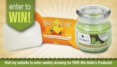 We give away products every week! Enter to Win! www.moneyfromcandles.com