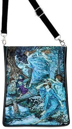 Arthur Rackham's Fairies by Night by Arthur Rackham, black version - Baba Store - 1