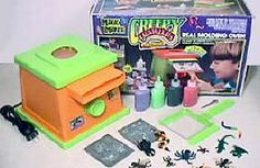 """""""Creepy Crawlers""""...I spent hours making butterflies and lizards and flowers and...loved the glow-in-the-dark Goop!"""