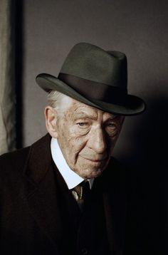 Première photo de Ian McKellen en Mr. Holmes