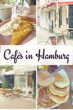 Hamburg hat einige versteckte Ecken und viele schnuckelige Cafés. Hier findest du die schönsten und charmantesten Cafés in Hamburg. Wohlfühlen garantiert! #cafe #hamburg