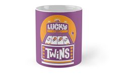 I am Lucky! I have Twins  by multiplesandmore  Twin Mugs Coffee Order now
