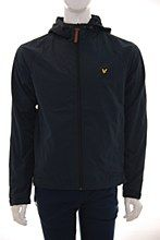 Lyle and Scott Mens Jacket Navy c_XL Zip Hooded Regular Fit - Various Size Options