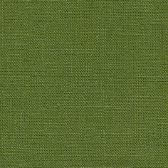 Fabrics-store.com: Cedar Green linen fabric