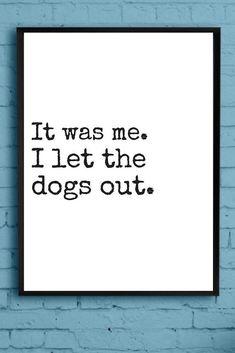Haha  #wallart #decor #dogs