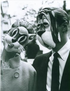 trust animal masks with permanent expressions beyond your control