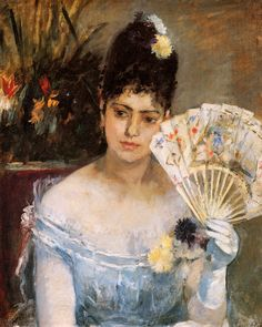"""One of """"les trois grandes dames"""" of Impressionism alongside Marie Bracquemond and Mary Cassatt, French painter Berthe Morisot was a painter and a member of the circle of painters in Paris who became known as the Impressionists. Mary Cassatt, Edouard Manet, Pierre Auguste Renoir, Camille Pissarro, Claude Monet, Rudolf Von Alt, French Impressionist Painters, Impressionist Artists, Berthe Morisot"""